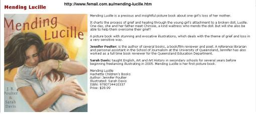 "Review in FeMail for ""Mending Lucille"