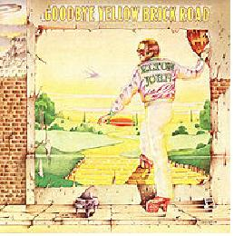 "Ian Beck's cover for ""Goodbye Yellow Brick Road"""