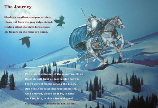 The Journey, text by J.R.Poulter, art by Ron Chironna