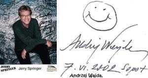 Smiles & autographs