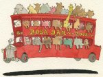 Big Red Animal Bus