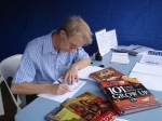 Peter Taylor,writer, illustrator, calligrapher and SCWBI coordinator
