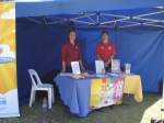 MS Readathon Tent